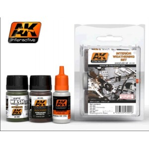 AK 091 Interior Weathering Set